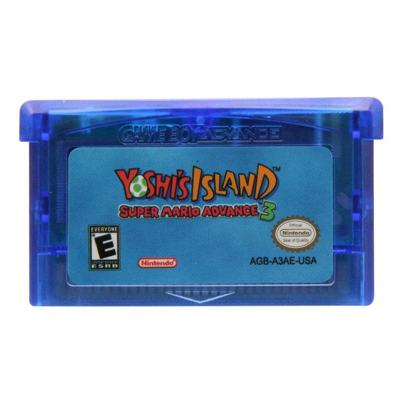 Super Mario Advance 3 Yoshi's Island Gameboy Advance GBA Cartridge Card US Version