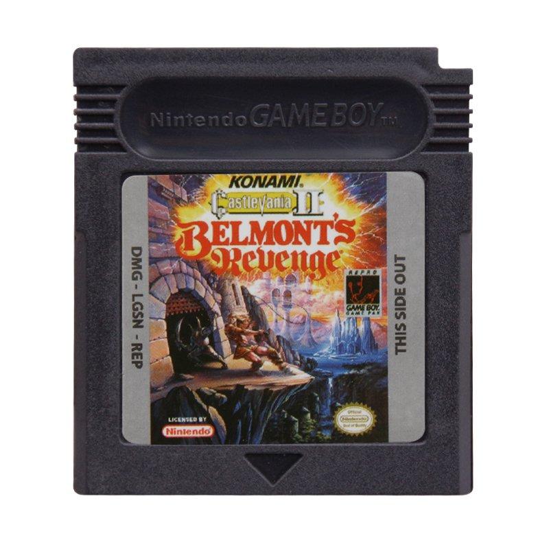Castlevania 2 - Belmont's Revenge Gameboy Color GBC Cartridge Card US Version