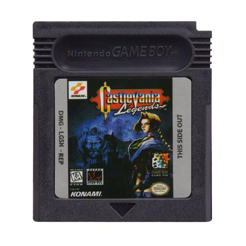 Castlevania Legends Gameboy Color GBC Cartridge Card US Version