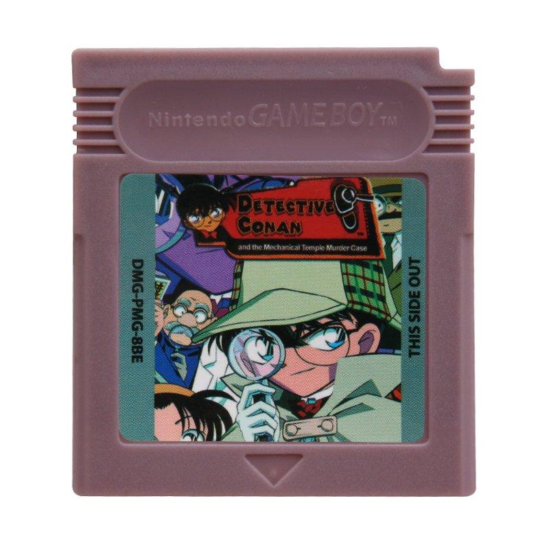 Detective Conan Gameboy Color GBC Cartridge Card US Version