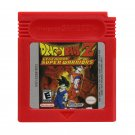 Dragon Ball Z Legendary Super Warriors Gameboy Color GBC Cartridge Card US Version