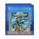 Dragon Warrior III Gameboy Color GBC Cartridge Card US Version