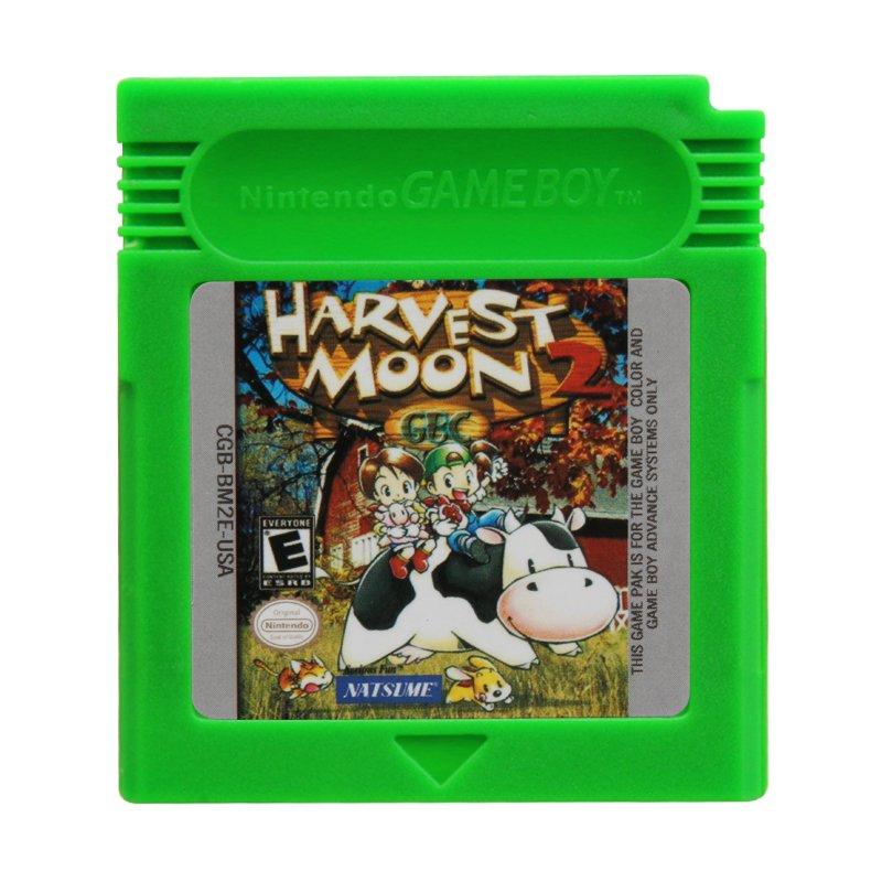 Harvest Moon 2 Gameboy Color GBC Cartridge Card US Version