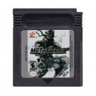 Metal Gear Solid Gameboy Color GBC Cartridge Card US Version