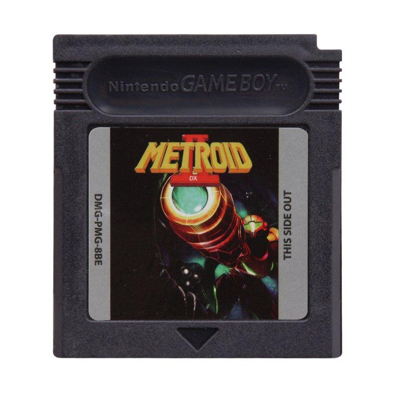 Metroid II DX Gameboy Color GBC Cartridge Card US Version
