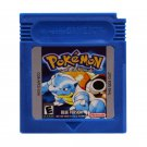 Pokemon Blue Gameboy Color GBC Cartridge Card US Version
