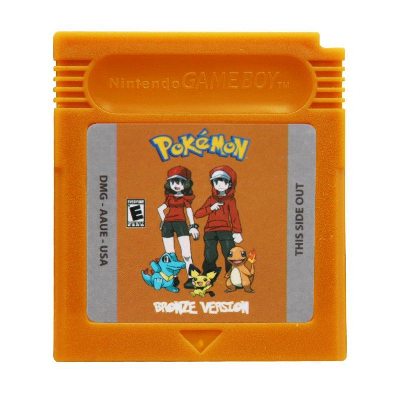 Pokemon Bronze Version Gameboy Color GBC Cartridge Card US Version
