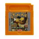 Pokemon Brown Version D Gameboy Color GBC Cartridge Card US Version