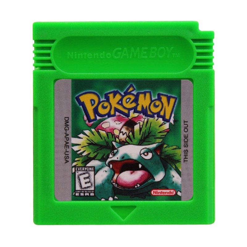 Pokemon Green Gameboy Color GBC Cartridge Card US Version