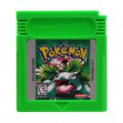 Pokemon Green Gameboy Color GBC Cartridge Card US Version