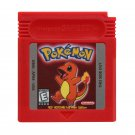 Pokemon Red Full Color Gameboy Color GBC Cartridge Card US Version