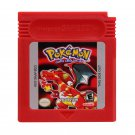 Pokemon Red Gameboy Color GBC Cartridge Card US Version