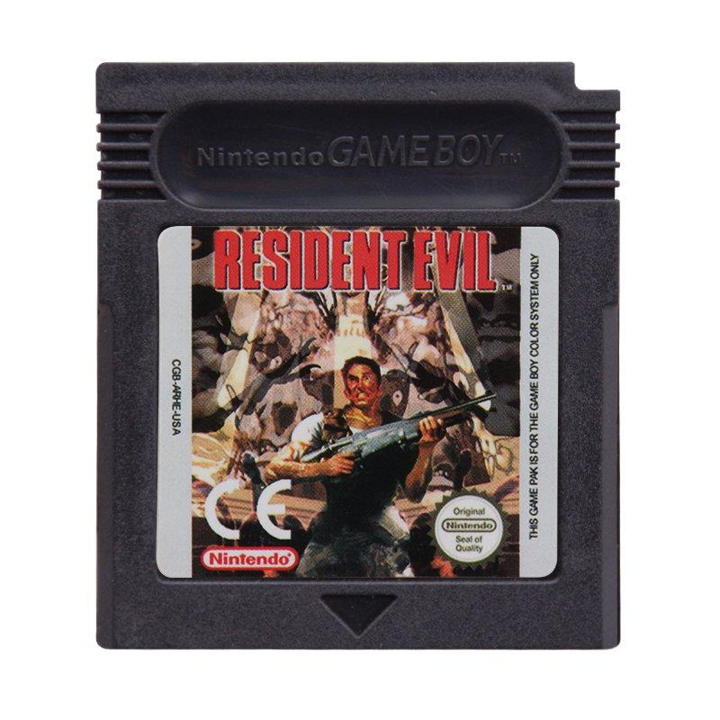 Resident Evil EU Gameboy Color GBC Cartridge Card US Version