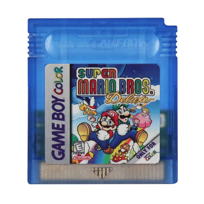 Super Mario Bros. Deluxe Gameboy Color GBC Cartridge Card US Version