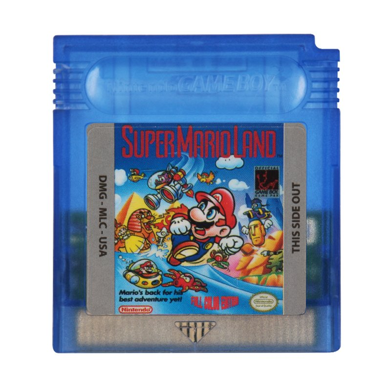 Super Mario Land Gameboy Color GBC Cartridge Card US Version
