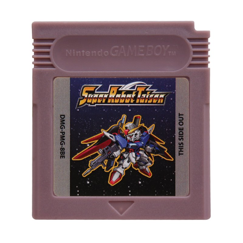 Super Robot Taisen Gameboy Color GBC Cartridge Card US Version
