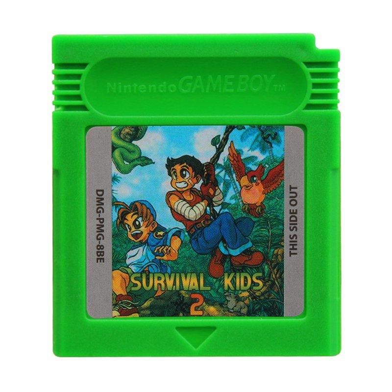 Survival Kids 2 Gameboy Color GBC Cartridge Card US Version