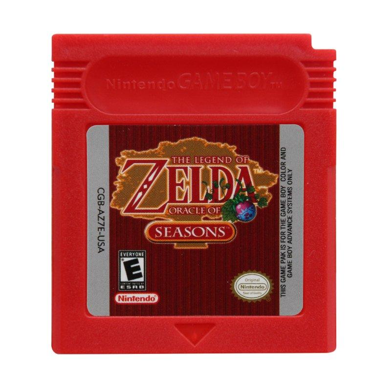 The Legend of Zelda - Oracle of Seasons Gameboy Color GBC Cartridge Card US Version