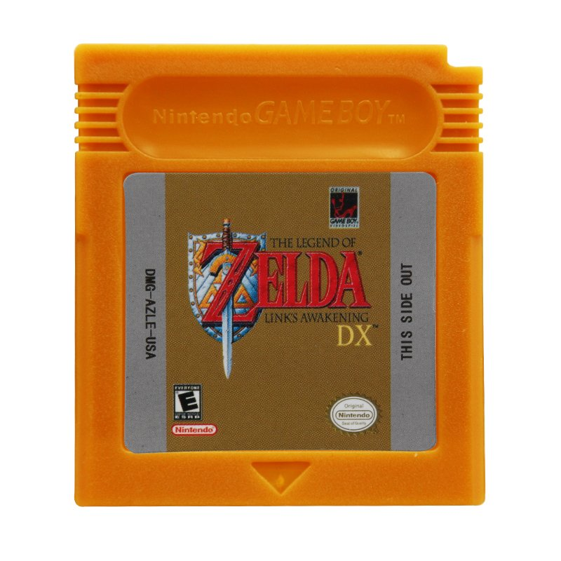 Zelda DX - Links Awakening Gameboy Color GBC Cartridge Card US Version