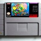 Brutal Mario Super Nintendo SNES NTSC Cartridge Card US Version Battery Save