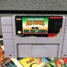 Super Mario All Stars Super Nintendo SNES NTSC Cartridge Card US Version New