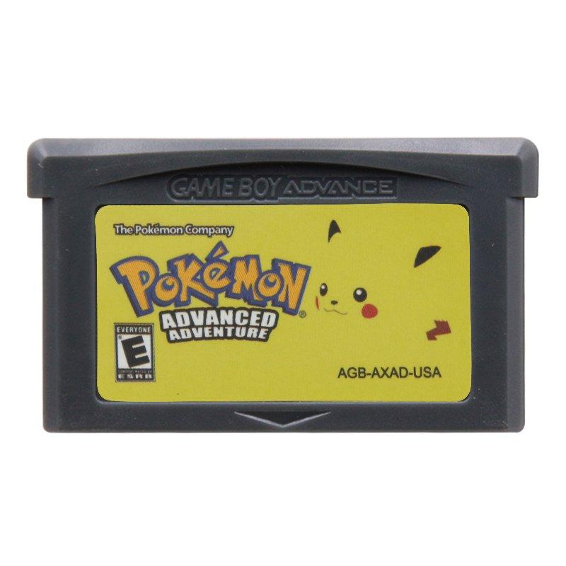 Pokemon Advance Adventures Gameboy Advance GBA Cartridge Card US Version