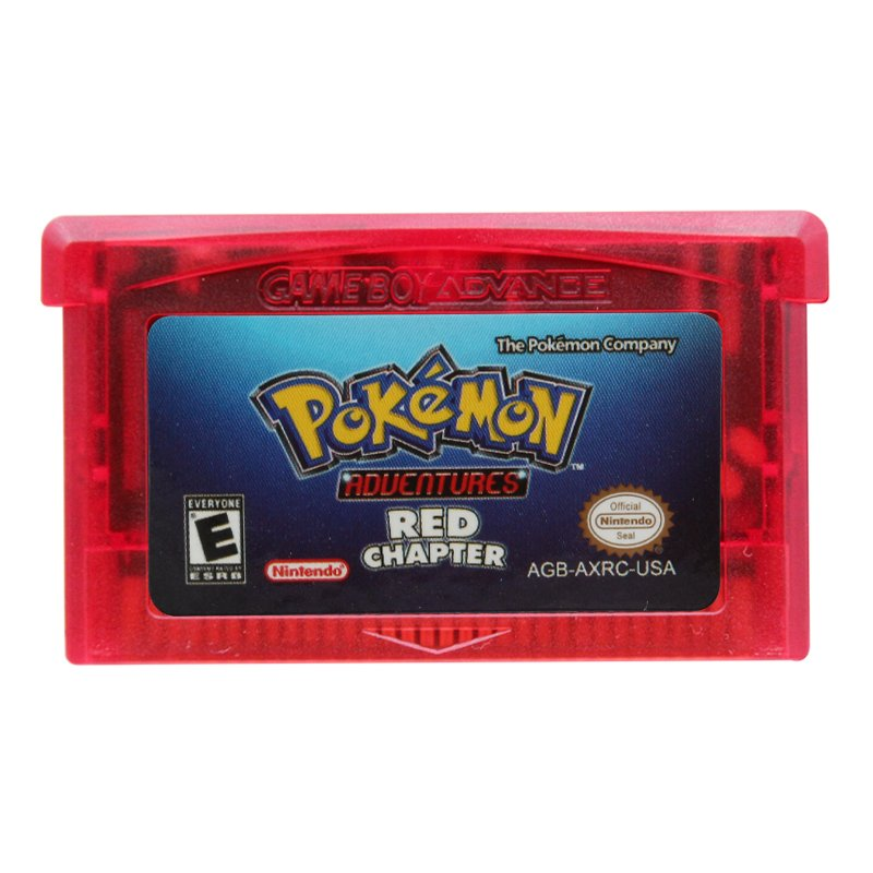 Pokemon Adventures Red Chapter Gameboy Advance GBA Cartridge Card US Version