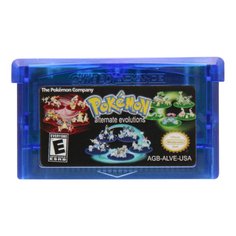 Pokemon Alternate Evolutions Gameboy Advance GBA Cartridge Card US Version