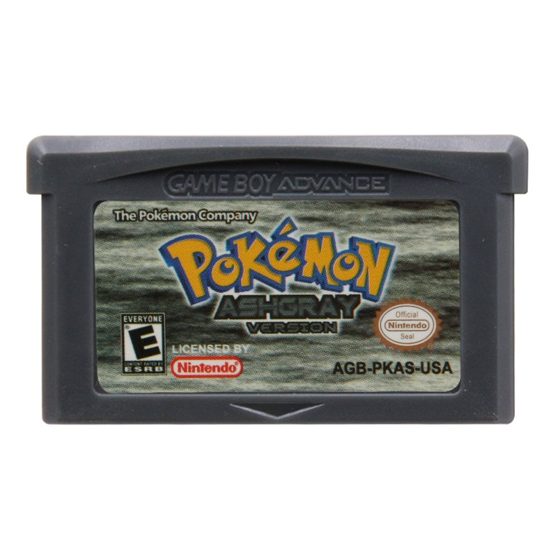 Pokemon AshGray  Gameboy Advance GBA Cartridge Card US Version