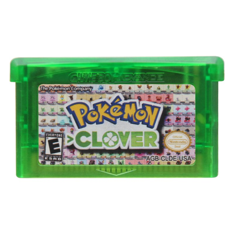 Pokemon Clover Gameboy Advance GBA Cartridge Card US Version