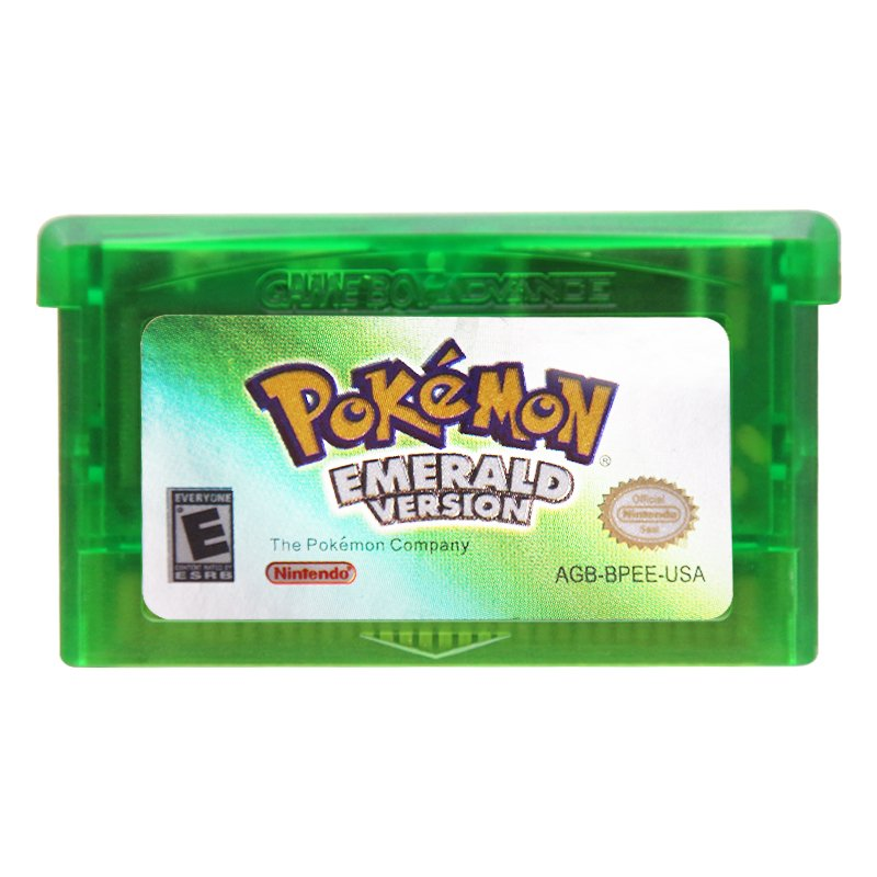 Pokemon Emerald Version Gameboy Advance GBA Cartridge Card US Version