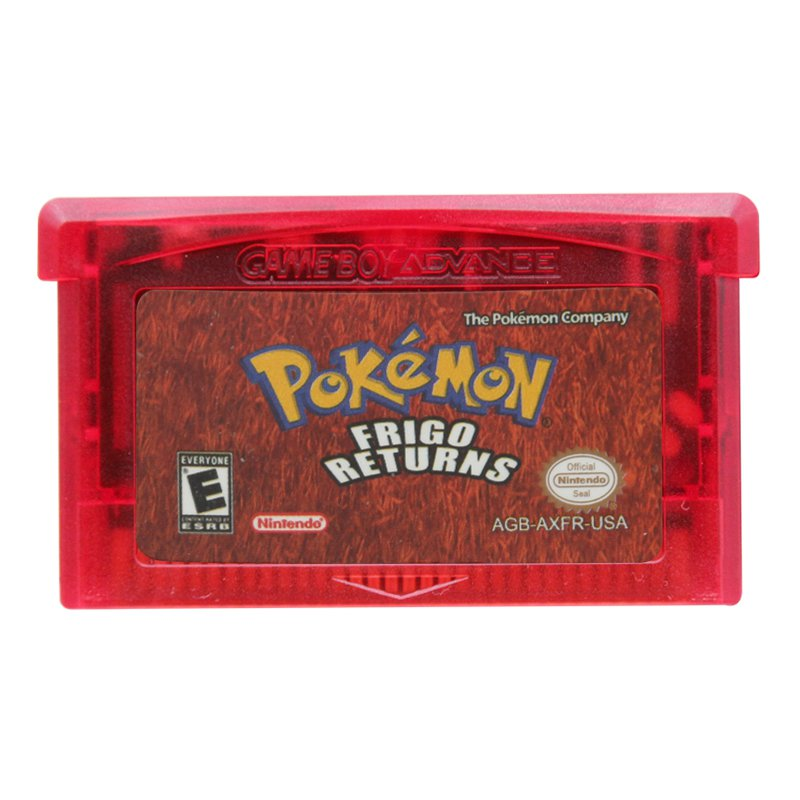 Pokemon Frigo Returns Gameboy Advance GBA Cartridge Card US Version