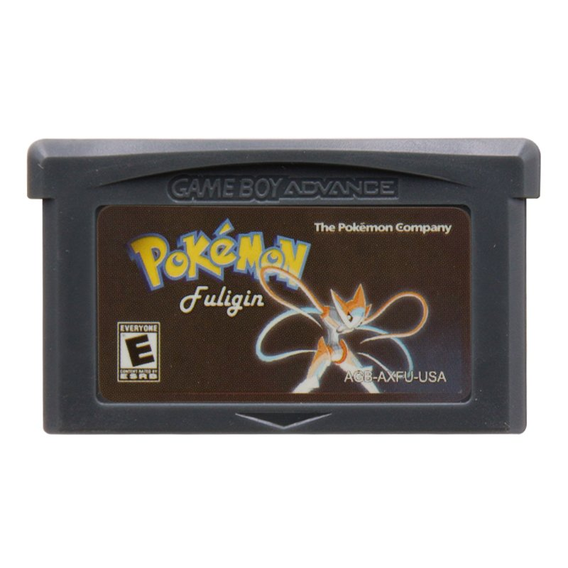 Pokemon Fuligin Gameboy Advance GBA Cartridge Card US Version