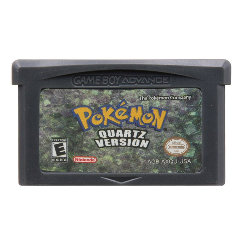 Pokemon Quartzl Gameboy Advance GBA Cartridge Card US Version