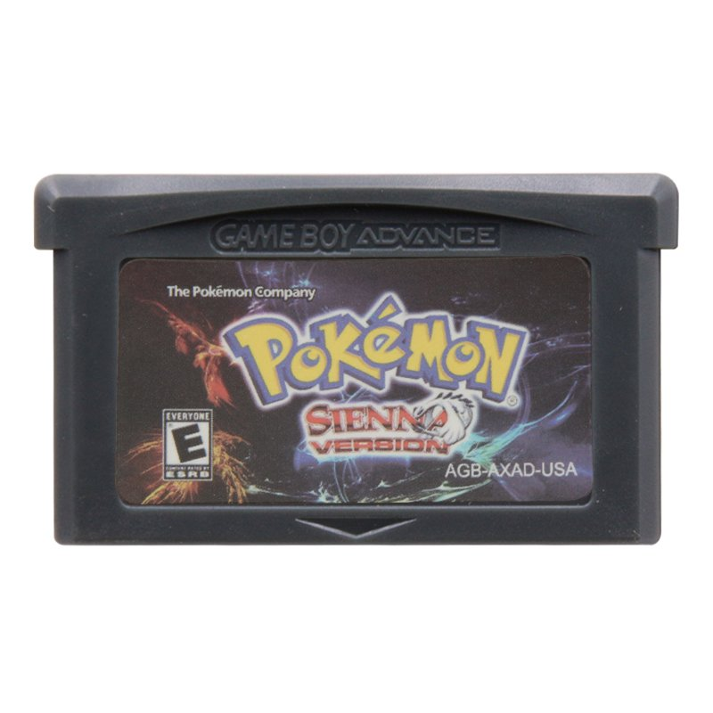 Pokemon Sienna Gameboy Advance GBA Cartridge Card US Version