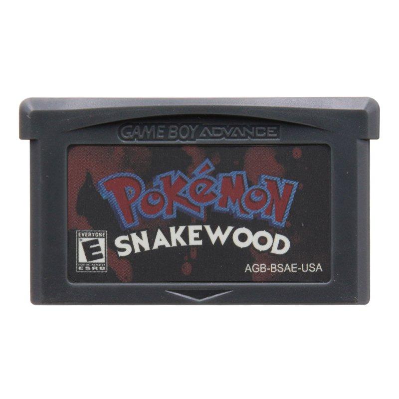 Pokemon Snakewood Gameboy Advance GBA Cartridge Card US Version
