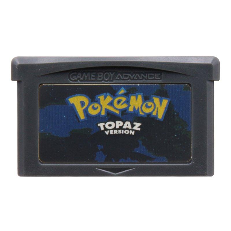Pokemon Topaz Gameboy Advance GBA Cartridge Card US Version