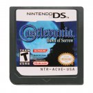 Castlevania Dawn of Sorrow DS 3DS Cartridge Card Console