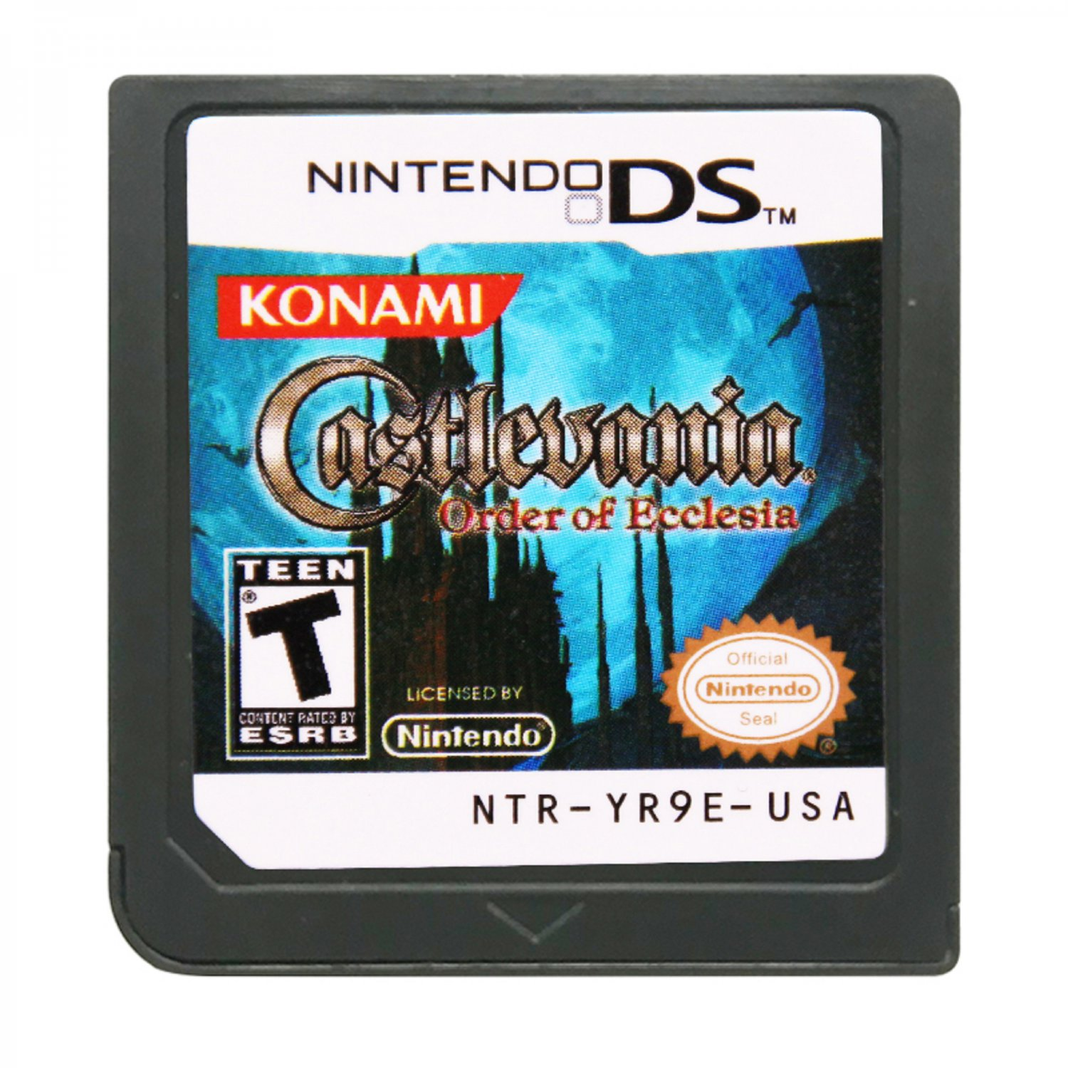 Castlevania Order of Ecclesia DS 3DS Cartridge Card Console