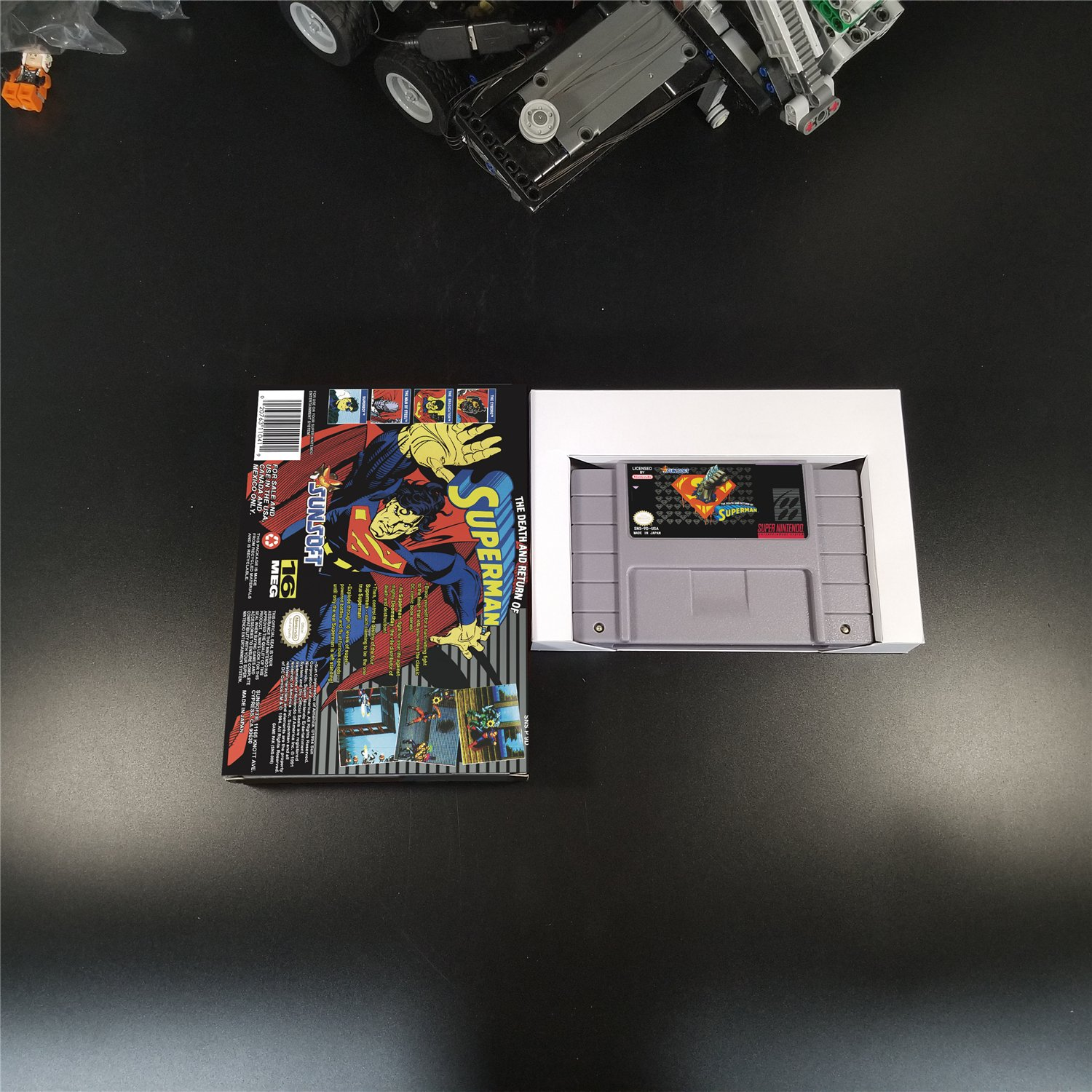 Death and Return of Superman Us Version With Retail Box
