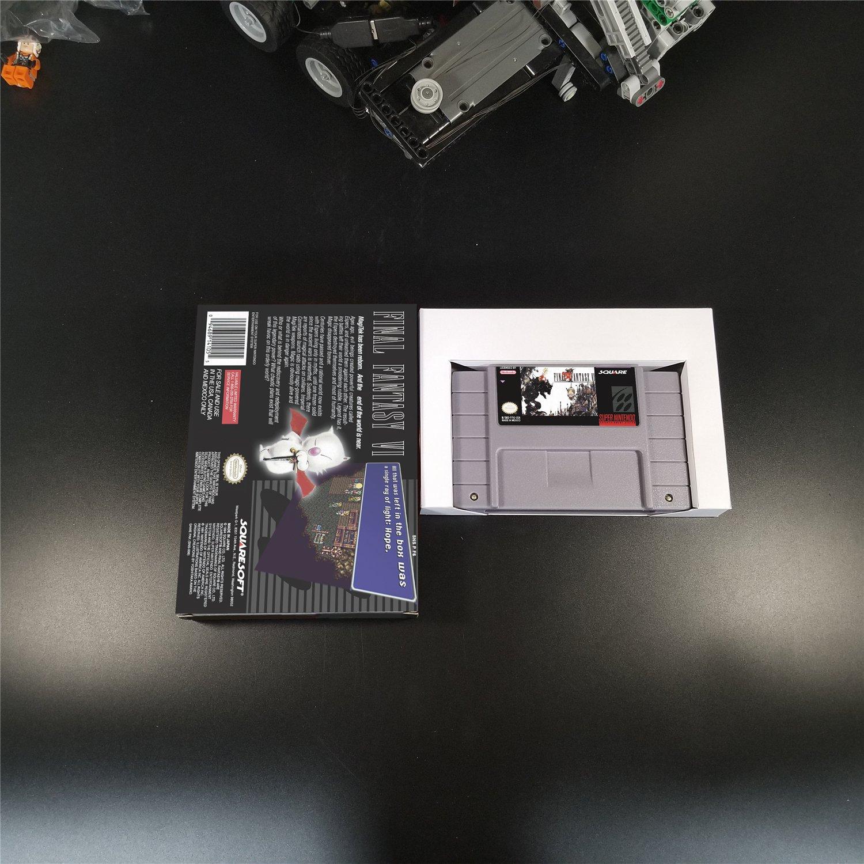 Final Fantasy VI Us Version With Retail Box