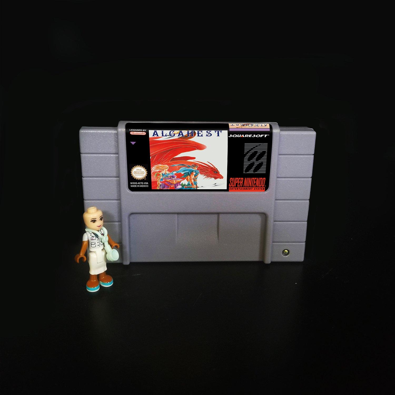 ALCAHEST Super Nintendo SNES NTSC Cartridge Card US Version