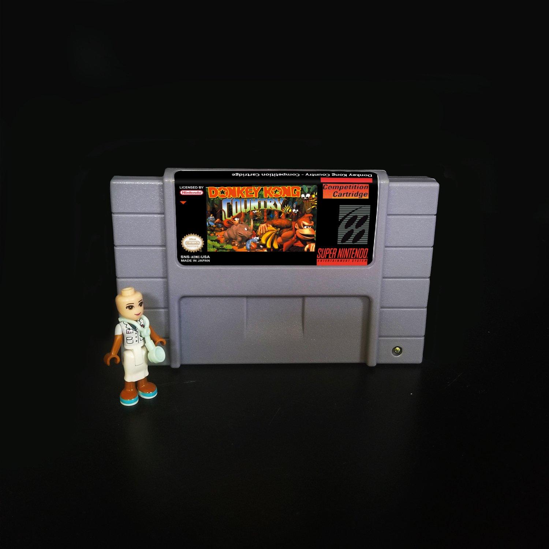 Donkey Kong Country - Competition Cartridge Super Nintendo SNES NTSC Cartridge Card US Version