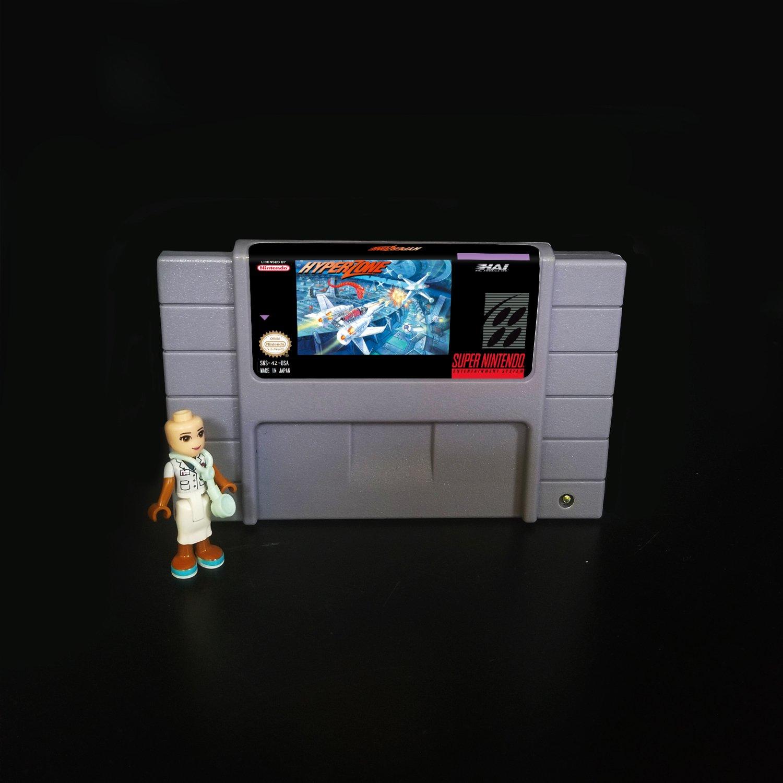 HyperZone Super Nintendo SNES NTSC 16bit Cartridge Card US