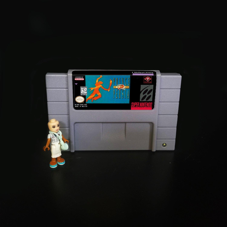 Prince of Persia 2 Super Nintendo SNES NTSC 16bit Cartridge Card US
