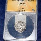 1937 Buffalo Nickel, ANACS EF-45, Number of VAMS