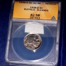 1838 D Buffalo Nickel, ANACS AU-58, Cleaned, Sharp Coin