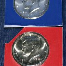 2016 P & D Kennedy Half Dollars, Proof coins, from mint sets, One of Each.
