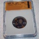 1999 D Washington, State Quarter, Proof,Georgia, Mint