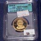 2008 S Presidential Dollar, PR-70,  Andrew Jackson, Cameo, DCAM